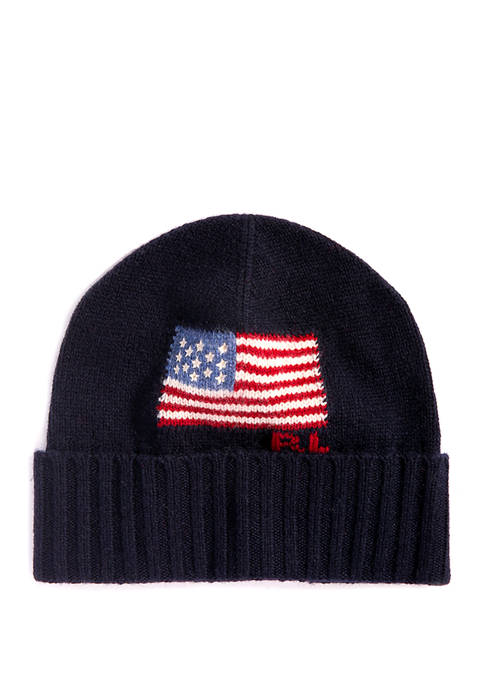 Polo Ralph Lauren Flag Merino Cuff Hat