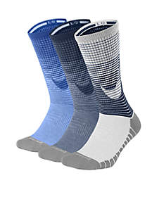 3-Pack Dry Cushion Crew Training Socks