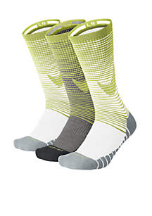 3-Pack Dry Cushion Crew Training Socks