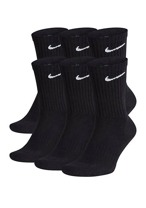 Nike® 6-Pack Everyday Cushion Crew Training Socks