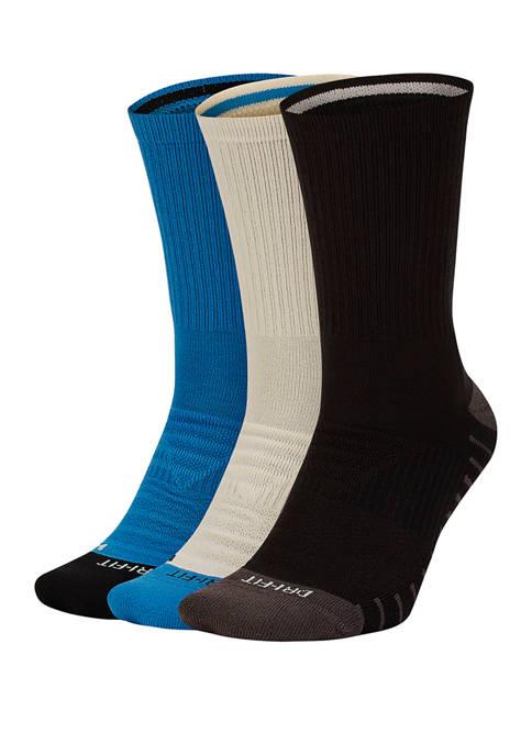 Nike® 3 Pack Cushion Training Crew Socks