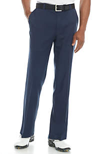 Flat Front Comfort Stretch Tech Pants