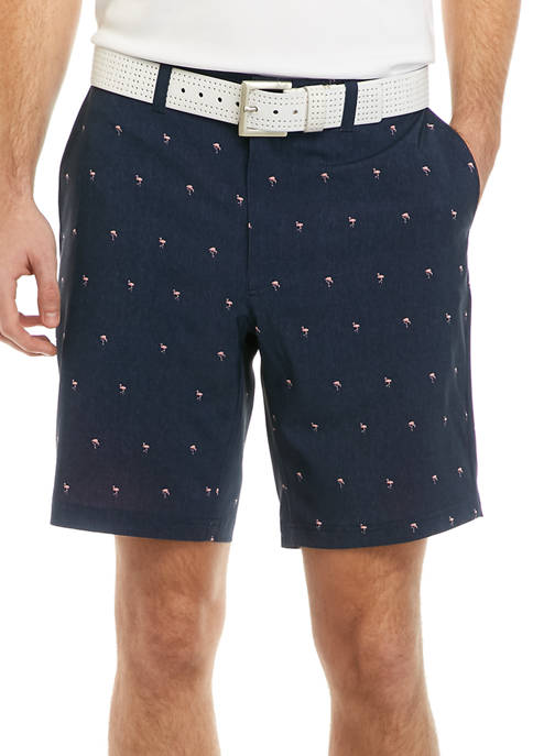 Pro Tour® Mens Flamingo Conversational Shorts