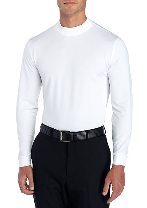 Pro Tour® Long Sleeve Mock Neck Pullover