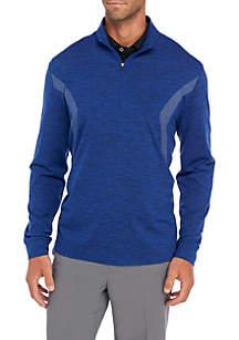 Long Sleeve Water Repellent Quarter Zip Shirt