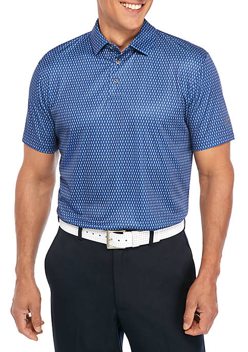 Short Sleeve Printed Golf Shirt