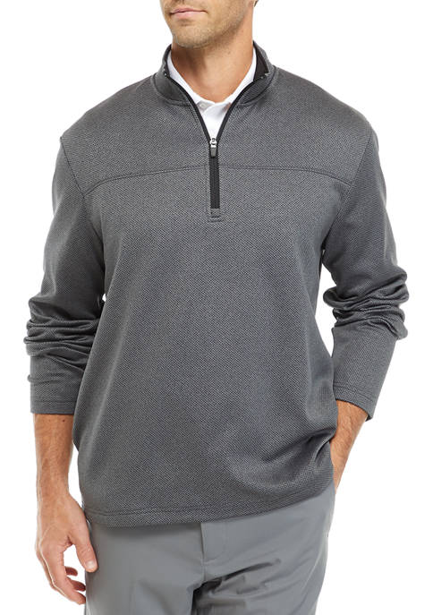 Pro Tour® Mens Long Sleeve 1/4 Zip Fleece