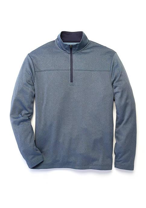 Long Sleeve 1/4 Zip Fleece Pullover