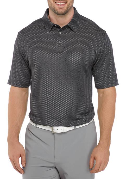Big & Tall Jacquard Print Polo Shirt