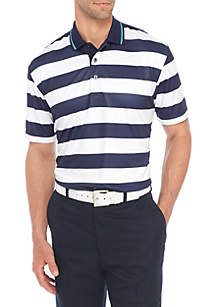 Short Sleeve Tipped Rugby Polo