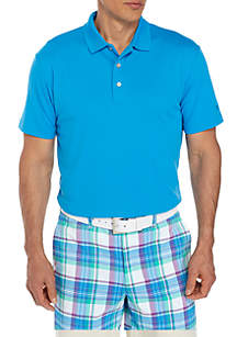 Short Sleeve Airplay Solid Polo