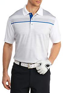 Short Sleeve Texture Polo Shirt