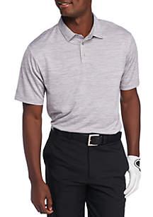 Short Sleeve Airplay Space-Dye Polo Shirt