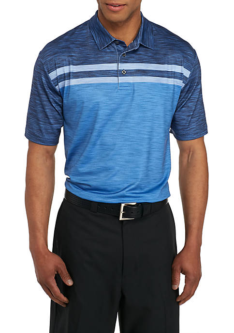 Pro Tour® Motionplay Block Print Polo