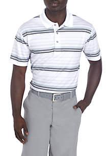 Airplay Textured Stripe Polo