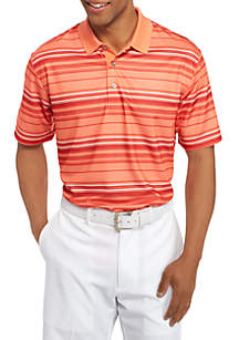 Airplay Textured Stripe Polo