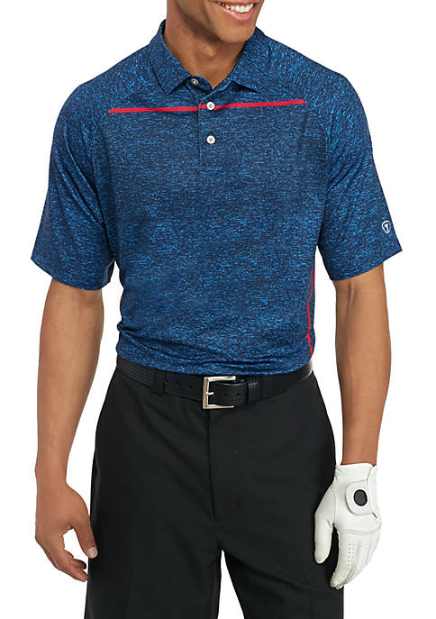 Pro Tour® Short Sleeve Motionplay Body Map Polo