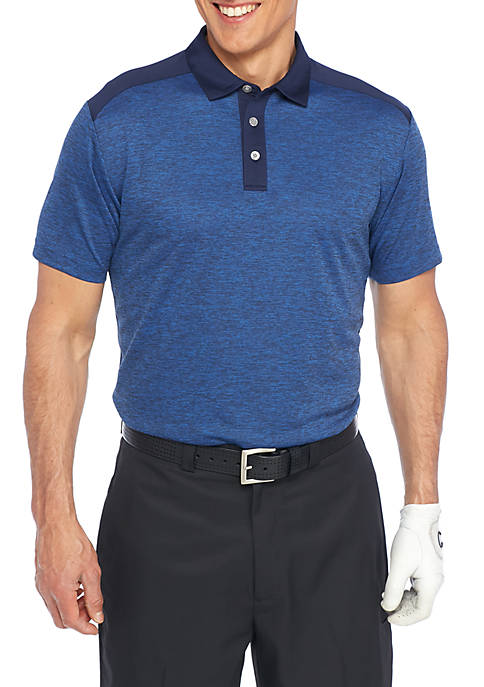 Pro Tour® Airplay Spacedye Block Polo Shirt