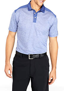 Airplay Spacedye Block Polo Shirt