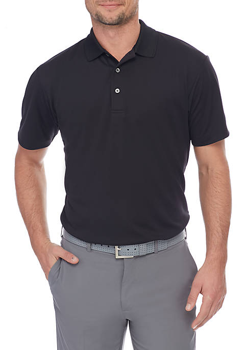 Pro Tour® Big & Tall Textured Airplay Polo