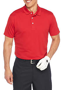 Big & Tall Textured Airplay Polo