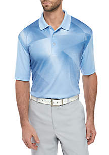 Pro Tour® Overlayed Dimensional Printed Polo Shirt