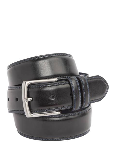 Nautica 35 mm Stitched Belt