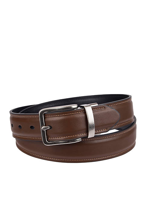 Nautica Reversible Raise Center With Stitch Belt