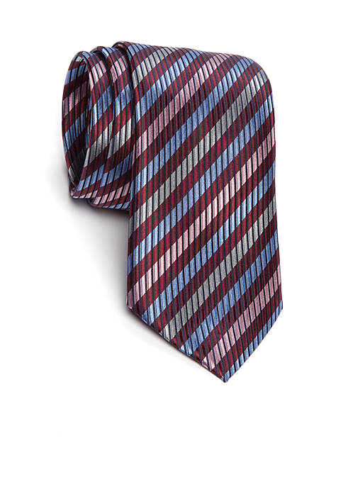 Countess Mara Castor Stripe Tie