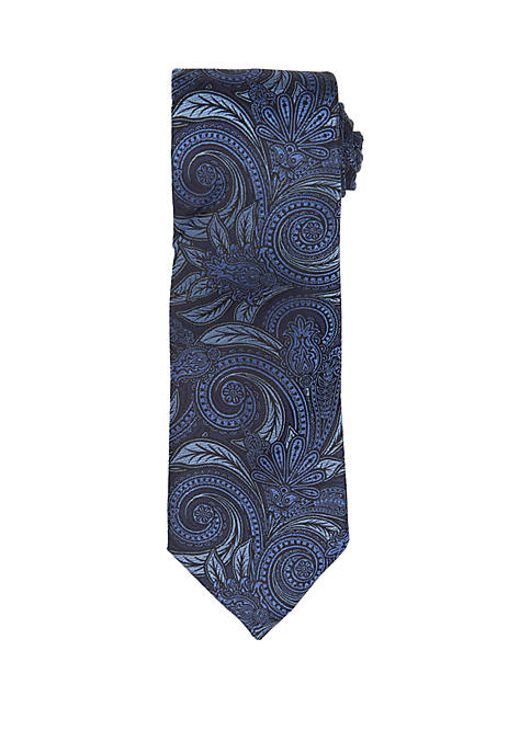 Countess Mara Arellia Paisley Print Neck Tie