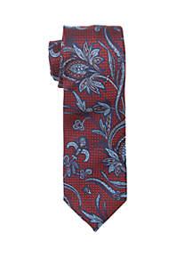 Medici Floral Print Neck Tie