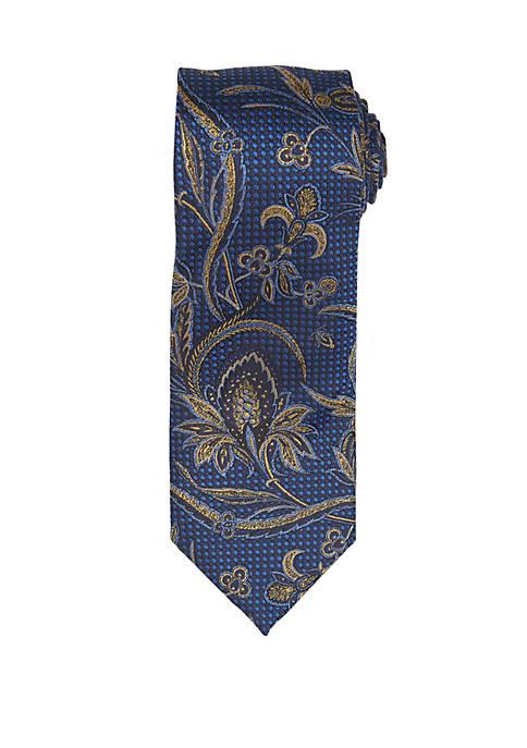 Countess Mara Medici Floral Print Neck Tie