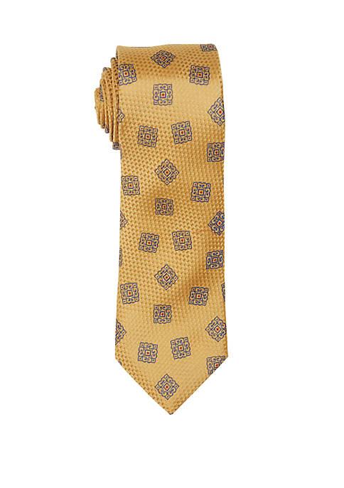 Countess Mara Santi Medallion Print Tie