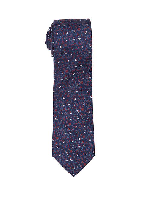 Countess Mara Martaci Floral Print Neck Tie