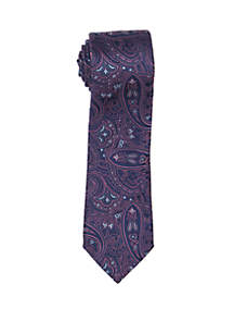 Countess Mara Balducce Paisley Print Neck Tie