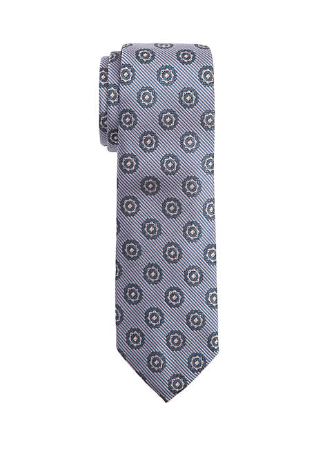 Countess Mara Tommaso Medallion Tie