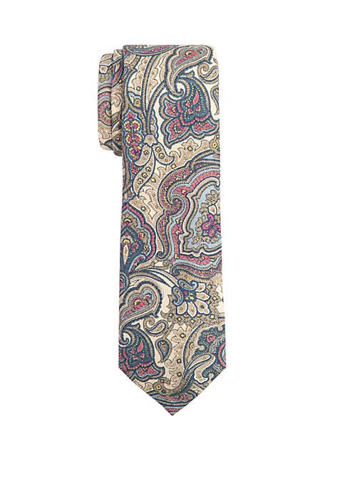 Duccio Paisley Tie