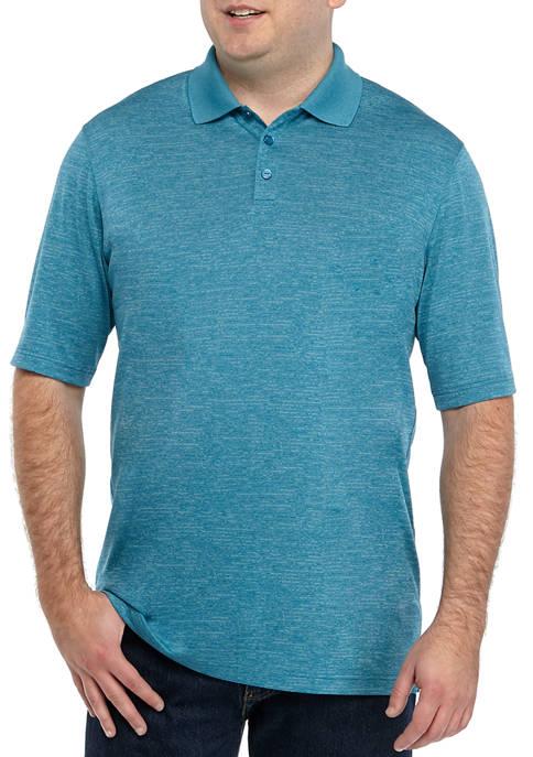 Haggar® Big & Tall Short Sleeve Marled Polyester