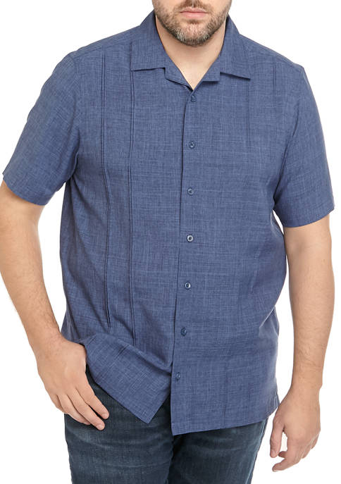 Haggar® Big & Tall Easy Care Short Sleeve