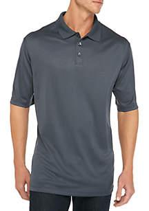 Big & Tall Short Sleeve Marled Polo Shirt