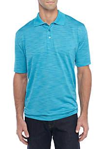 Short Sleeve Roytex Polyester Knit Polo