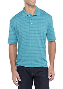Grid Polo Shirt