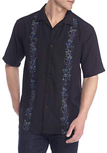 Short Sleeve Drink Boarder Pucker Shirt