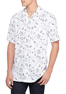 Sailboat Flamingo Print Shirt