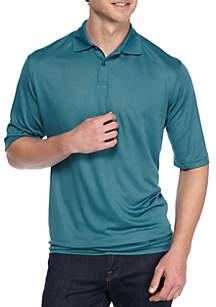 Big & Tall Short Sleeve Solid Polo Shirt