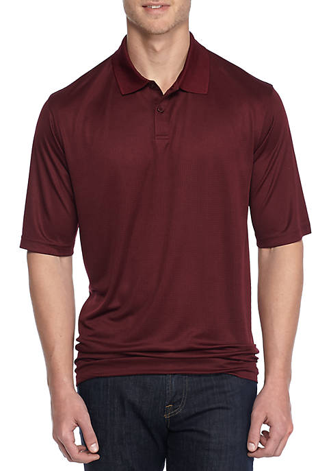 Saddlebred® Big & Tall Short Sleeve Solid Polo