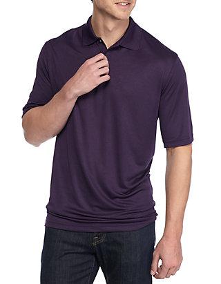 1b25b27e646 Saddlebred® Big   Tall Short Sleeve Solid Polo Shirt