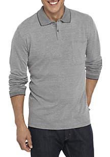 Long Sleeve Box Polo Shirt