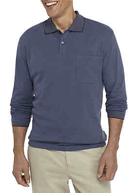 1c7465726a73 Shop Polo Shirts for Men  Long Sleeve Polo Shirts   More   belk