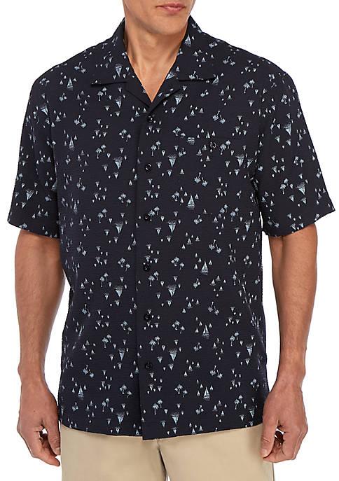 Short Sleeve Camp Classic Fit Shirt